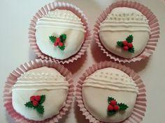 Joulu cupcake 2