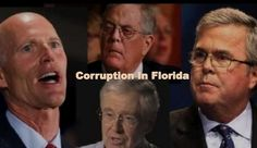 Jeb Bush, Koch Brothers & Rick Scott all in bed together to allow the Koch Brothers Company Georgia Pacific to dump millions of gallons per day of toxic waste at will into Florida's St.John's River