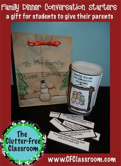 A Gift the Keeps on Giving - If you struggle to come up with a meaningful, inexpensive parent gift from your students each year - this is for you! Find out how you can give a gift that parents and families will be able to use for a long time, maybe even years! It's a GREAT idea!