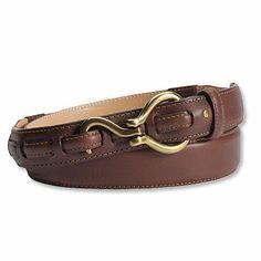 Hoof-Pick Buckle Belt / Hoof-Pick Leather Belt -- Orvis