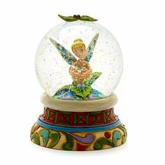 Jim Shore Disney Traditions - Tinkerbell Schneekugel