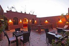 Terrasse nuit - Dar Pamella - Marrakech