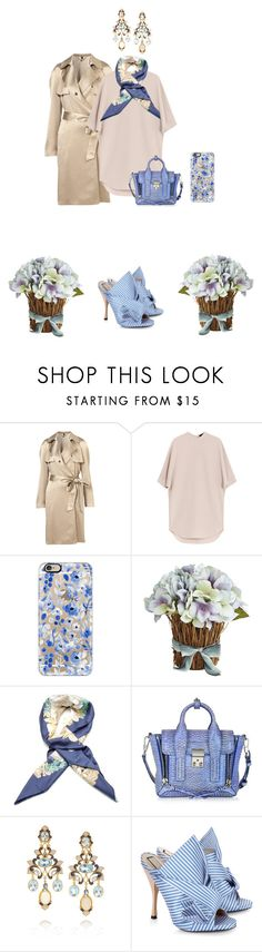 """""""Без названия #437"""" by tatishmati ❤ liked on Polyvore featuring Alexander Wang, Casetify, Pier 1 Imports, Hermès, 3.1 Phillip Lim, Diego Percossi Papi and N°21"""
