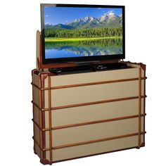 The Destinations TV Lift Cabinet will add the wow factor to any room!