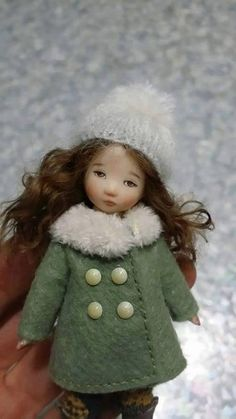 Porcelain  Doll by Sun Joo Lee by LittleDollsRoom on Etsy