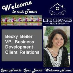 Life Changes Realty Group is excited to announce that Becky (Mueller) Beiler has joined our team as our Vice President of Business Development Client Relations. Becky has a long history in the Lancaster Real Estate Market and brings much marketing talent to our group. She truly has a LIFE CHANGES story. Watch for our upcoming blog post about her journey. Welcome Becky!