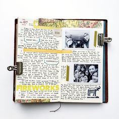 Traveler's Notebook Planner Layout by Theresad512 at @studio_calico