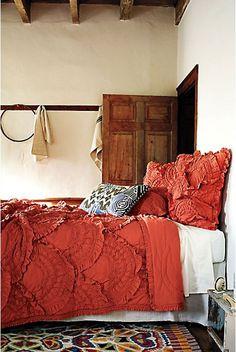 Crazy for bedspread