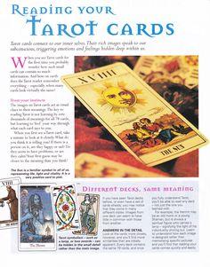 Divination:  #Tarot:  Reading Your Tarot Cards.