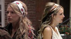 How to wear a head scarf like Blake Lively photo instruction blog :)