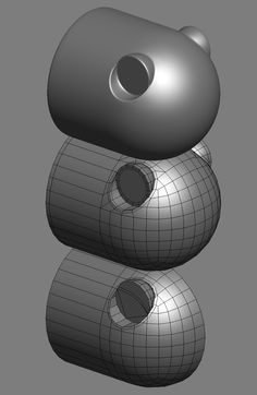 How The F*#% Do I Model This? - Reply for help with specific shapes - Page 126 — polycount