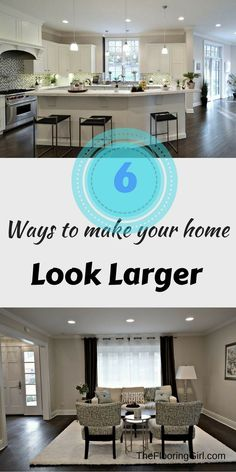 6 Ways to make your Westchester home look larger - The Flooring Girl Do It Yourself Organization, Home Selling Tips, Home Hacks, Home Look, Home Staging, Home Improvement Projects, Home Renovation, Diy Home Decor, Sweet Home