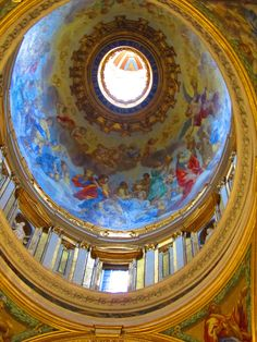 Inside St Peters in the Vatacan