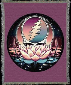 """Lotus Stealie"" by Taylor Swope"