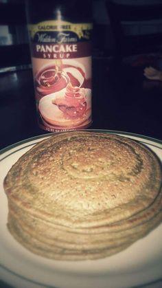 Spinach Protein Pancakes (FTDI) MooMoo Jackson Style