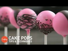 Tips and Tricks for Coating Cake Pops!