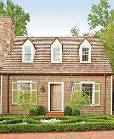 Most Popular Modern Dream House Exterior Design Ideas One Bedroom House Plans, Cottage House Plans, Craftsman House Plans, Best House Plans, Modern House Plans, Small House Plans, Cottage Homes, Backyard Cottage, Southern Living House Plans
