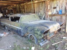 1958 Chevrolet Impala 2DR Hardtop. ~~ Oh this is indeed sad...