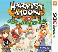 Nintendo 3ds game Want http://www.ign.com/articles/2012/11/02/harvest-moon-a-new-beginning-review