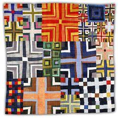 9 Patch Color Study 5. Eleanor McCain, quilt artist