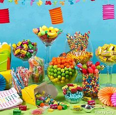 Luau Candy Bar