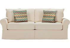 picture of Cindy Crawford Home Beachside Natural Sleeper  from Sleeper Sofas Furniture