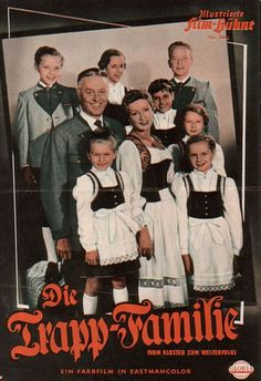 Die Trapp-Familie: The original German movie from 1956 (before The Sound of Music)