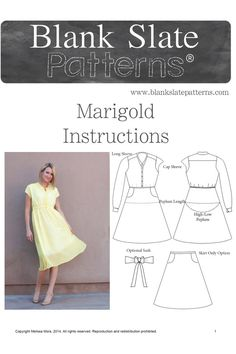 Marigold by Blank Slate Patterns Pattern Preview 1 | Indiesew.com