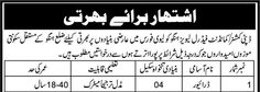 Government Job Opportunity in Federal Levies Force Hangu  #Job #Government #Levies_Force
