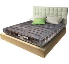 Schlafen auf der Palette - das Spannbettlaken für Logistiker