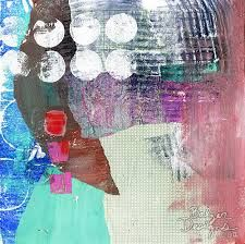 Image result for gelli printing on deli paper