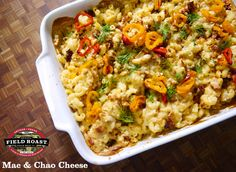This mind-blowing Mac n' Cheese recipe was one of the first created with our Chao Slices, by our resident chef Tommy! He competed with this recipe in the 2014Vegan Mac Showcase held by Vegan Iron Chef in Portland and it was an instant hit. Although our slices were designed with cold-cut deli and melt-style sandwiches …