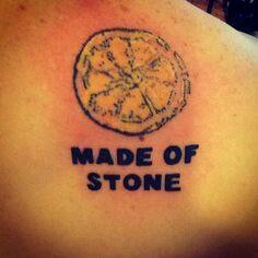Stone roses tattoo