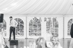 I bring to you Imogen & Barney's insanely creative back garden wedding in Streatham. Marquee Wedding, Tent Wedding, Back Garden Wedding, Garden Marquee, Flower Market, Group Photos, Couple Portraits, Back Gardens, Marriage