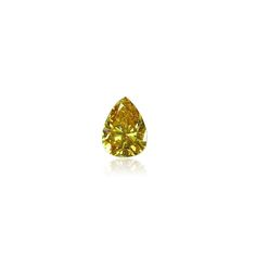 Our 0.55 ct orange-yellow pear brilliant diamond is bursting with special properties - clean cut, nice layout and super gorgeous shape. See this stone at www.thegembank.com. Strong intense colour, a really stunning stone.