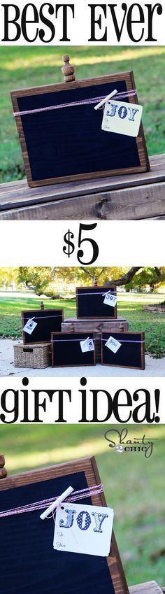 DIY #Christmas Gift Idea at Shanty-2-Chic.com // Perfect #gift for teachers, family or ANYONE! LOVE these!