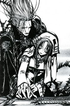 Shibamoto Thores, Trinity Blood, Esther Blanchett, Abel Nightroad