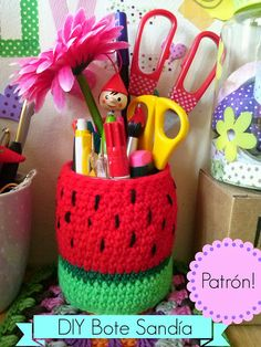 ¡Mercadillo Creativo de crochet con DIY!