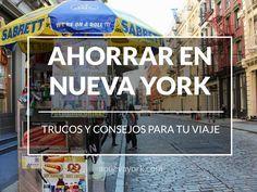 Trucos y consejos para ahorrar en Nueva York Travelling Tips, Travel Tips, Traveling, Holidays In New York, Travel Around The World, Around The Worlds, New York 2017, Miami Orlando, New York Winter