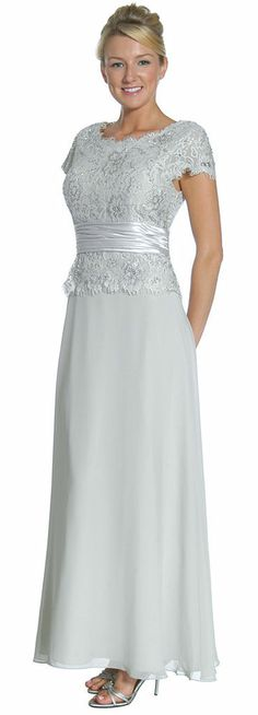 NEW MOTHER OF BRIDE GROOM DRESS FORMAL PLUS SIZE SIMPLE