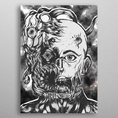 Want a metal print copy?: Visit Store Description: Infestation-Vintage by Abbadon Ypushima Wall Art Prints, Framed Prints, Poster Prints, Canvas Prints, Posters, Painted Cups, Muse Art, Canvas Pictures, Abstract Art