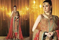 Umar Sayeed Summer 2013 Bridal Dresses Collection Pinned by Zartashia