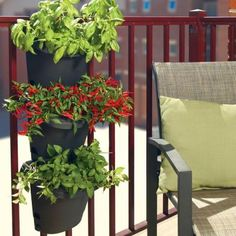 The Home Depot hanging urban garden planters