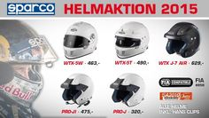 Das ist kein April Scherz: Schaut Euch doch mal unsere Helmaktion an: http://www.sandtler24.de/sparco-helmaktion-2015