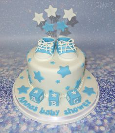 Star/shoes themed cake. www.cakeseven.wix... Facebook- Cake7. Twitter- Cake7 email: cake.seven@aol.co.uk phone: 07731 882 988