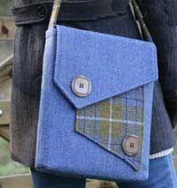 Morston Quay Messenger Bag Pattern by Charlie's Aunt