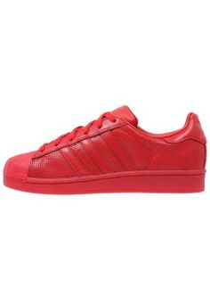 5b9d2e7ab92 Baskets adidas Originals SUPERSTAR ADICOLOR - Baskets basses - scarlet  rouge  100
