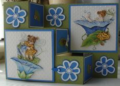 TLC391 Maya the bee takes a bath by niki1 - Cards and Paper Crafts at Splitcoaststampers