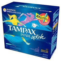 Tampax Pearl Active Duopack Tampons - 36 Count (9 Lites, 27 Regular)