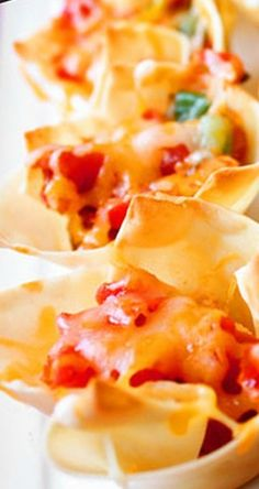 Chipotle Chicken Cups Recipe ~ Says: So if you're looking for classy, charming presentation with big flavor and minimal prep — these chipotle chicken cups are for you!
